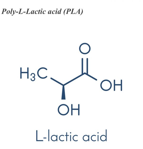 Poly-L-Lactic acid (PLA)